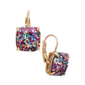 Kate Spade Glitter & Glee Drop Earrings NWOT